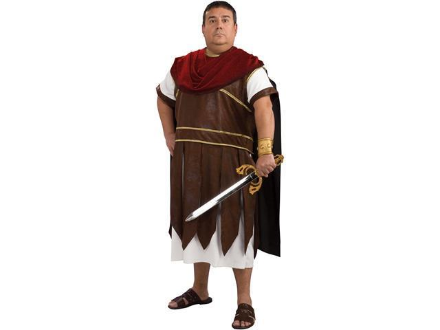 Greek Warrior Plus Adult Costume