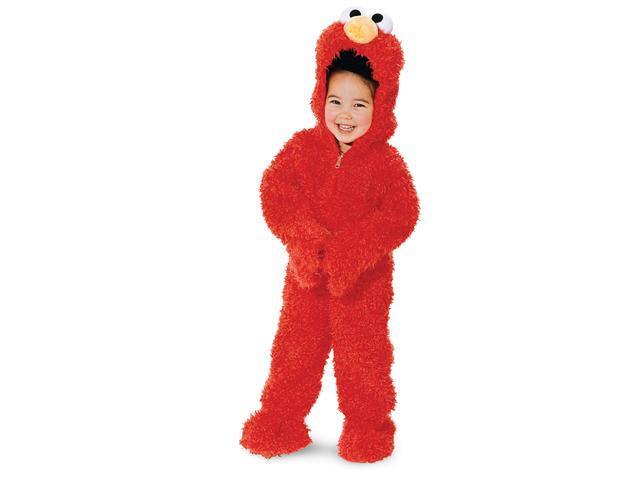 Sesame Street Elmo Plush Deluxe Toddler Costume - Toddler (3T-4T)