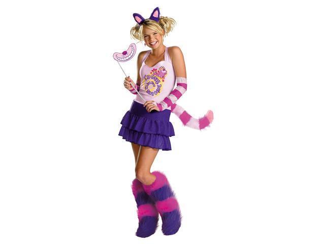 Teen Deluxe Cheshire Cat Costume Disguise 50333