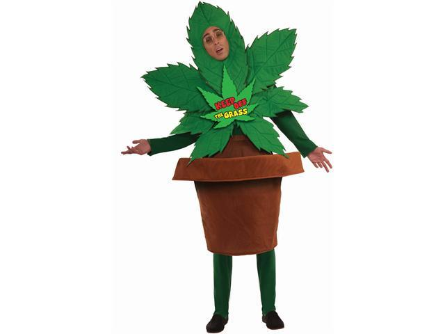 Keep Off the Grass Adult Costume - One-Size (Standard)