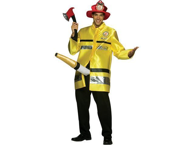 Men's Fire Extinguisher Costume