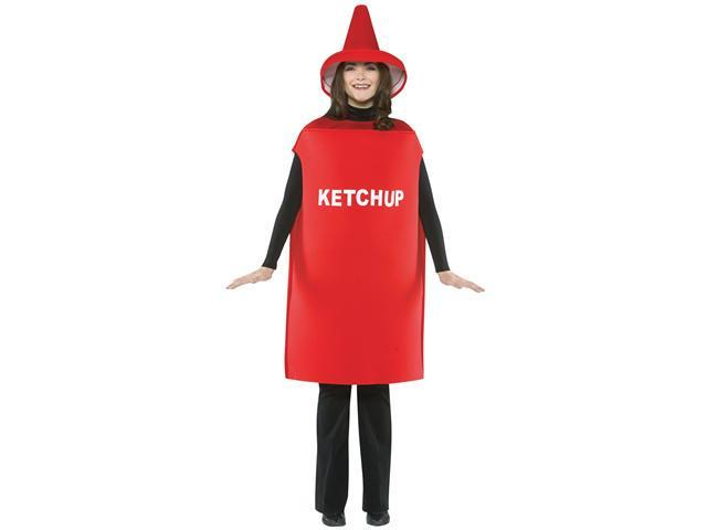 Adult Ketchup Bottle Costume Rasta Imposta 305