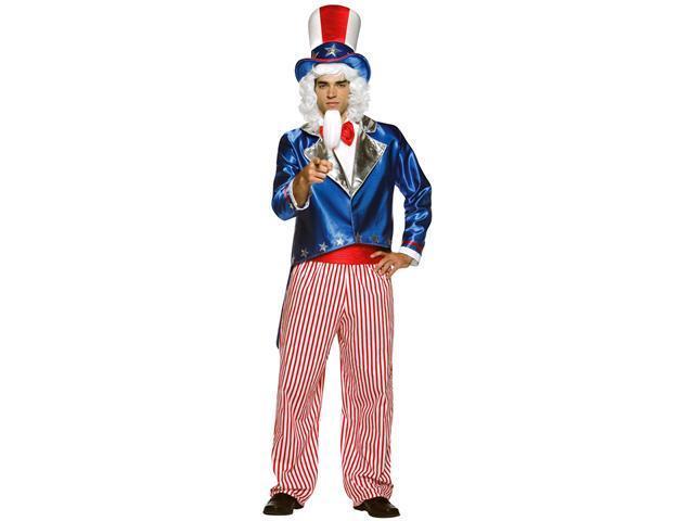 Adult Uncle Sam Costume Rasta Imposta 1943