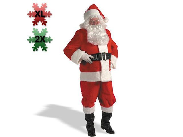 XX Large Professional Quality Santa Claus Costume for Men