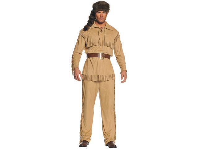Frontier Man Plus Adult Costume