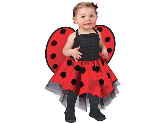 Infant Lady Bug Costume FunWorld 9666