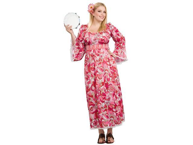 Plus Size Women's Flower Child Costume