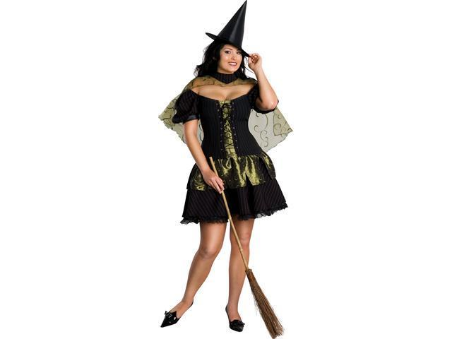 Full Figure Wicked Witch of the West Costume Rubies 17581