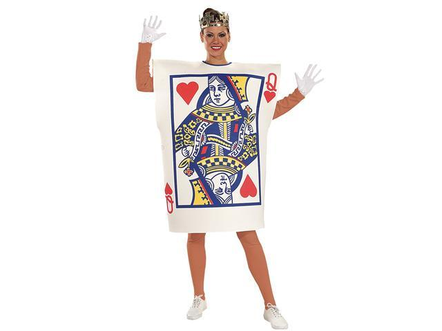 Adult Queen Of Hearts Costume Rubies 16586