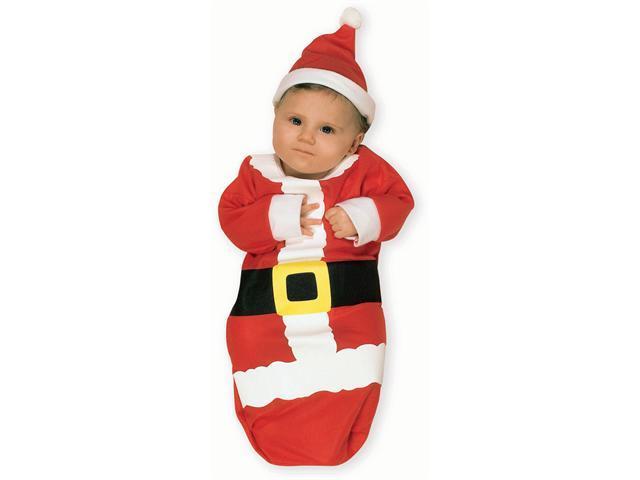Baby Santa Claus Bunting Rubies 81121
