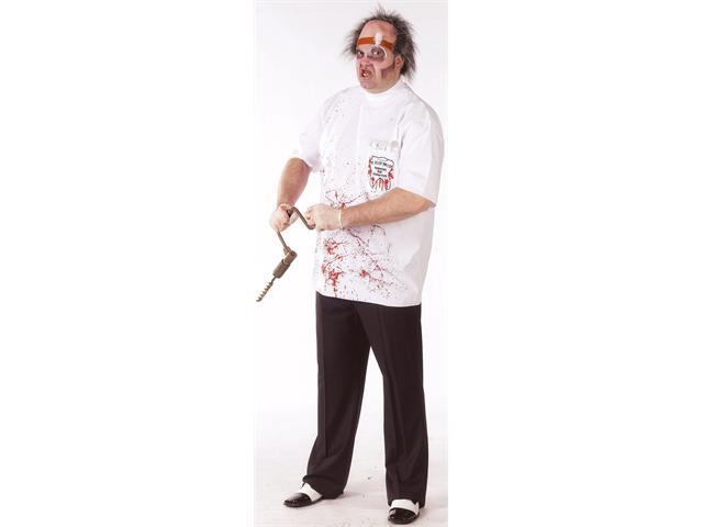 Dr. Killer Driller Dentist Adult Plus Costume