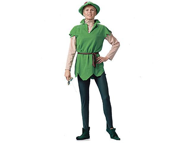 Adult Peter Pan Costume with Hat