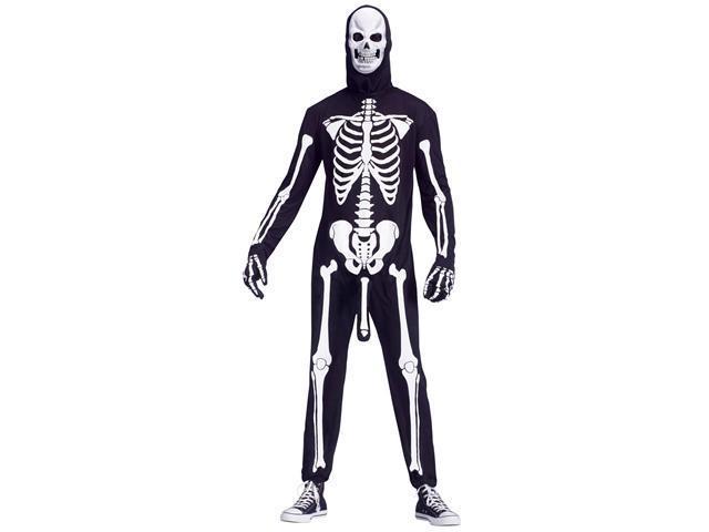 Skeleboner Adult Costume   - One-Size (Standard)