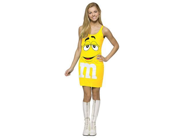M&M  Yellow Tank Dress