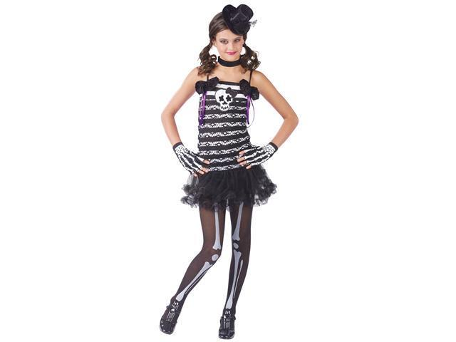 Teen Skeleton Sweetie Costume by FunWorld 110693
