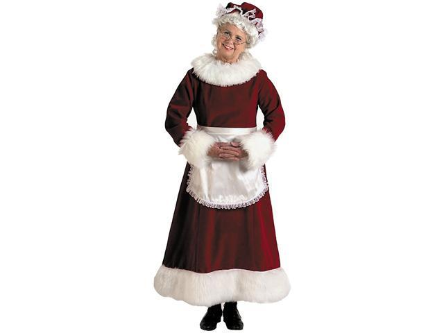 Mrs. Claus Dress Adult Plus Costume - Plus