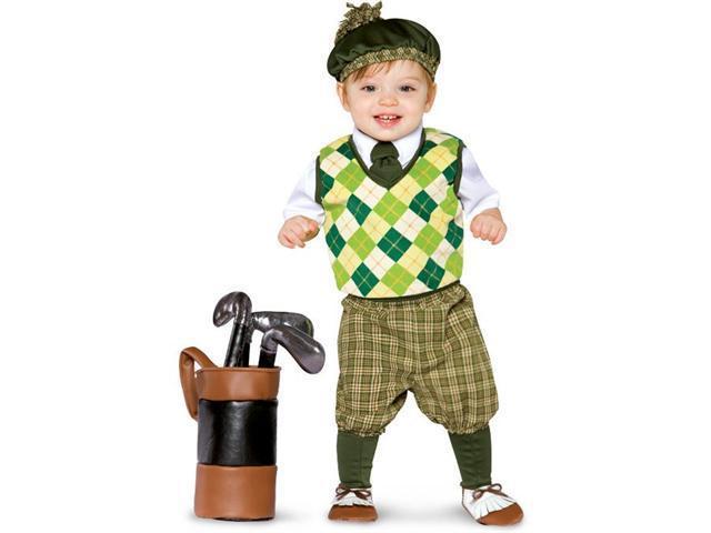 '18-24 mo Future Golfer Costume Rasta Imposta 9758