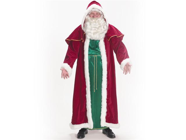 Victorian Santa Costume for Adults