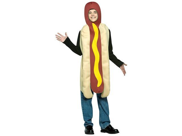 Hot Dog Teen Costume - One-Size (13-16)