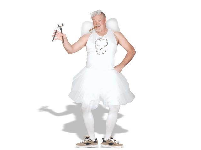 Plus Size Tooth Fairy Costume for Adult