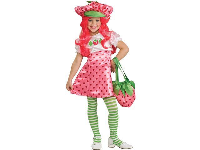 Child Deluxe Strawberry Shortcake Costume Rubies 883489