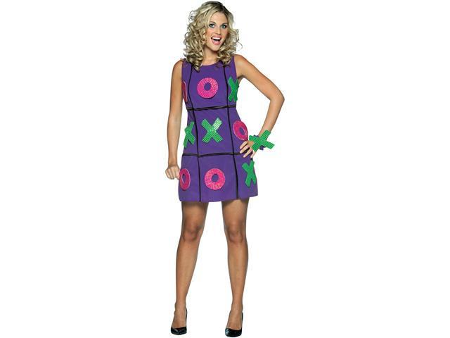 Adult Tic Tac Toe dress Costume Rasta Imposta 3682