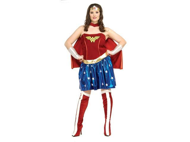 Wonder Woman Plus Size Costume For Women