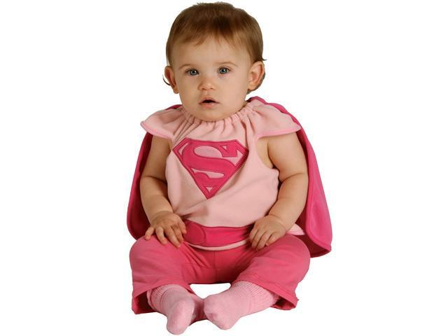 Supergirl Bib Newborn Costume