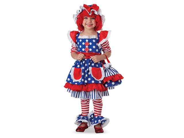 Rag Doll Toddler/Child Costume