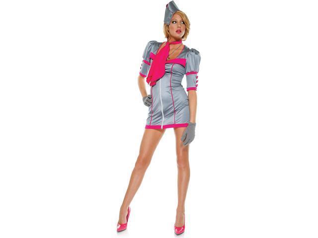 Swanky Stewardess Adult Costume