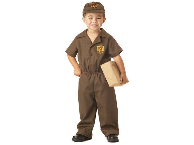 UPS Guy Costume for Toddlers