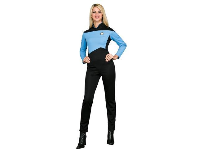 Adult Female Star Trek Sciences Uniform Rubies 889066