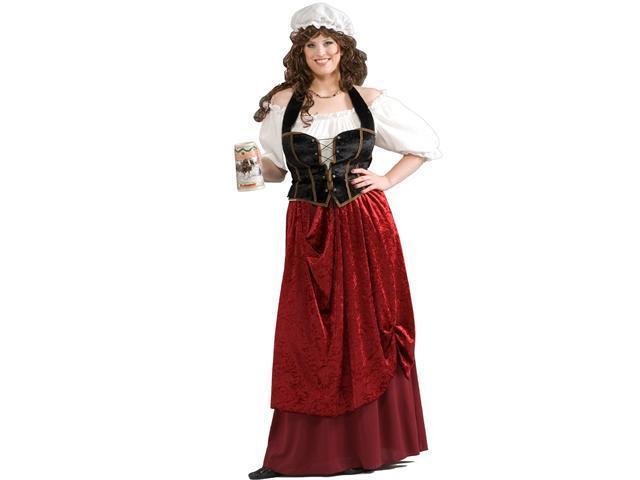 Women's Tavern Wench Plus Size Costume