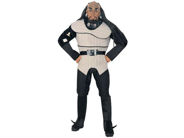 Adult Star Trek Next Generation Klingon Costume Rubies 889068