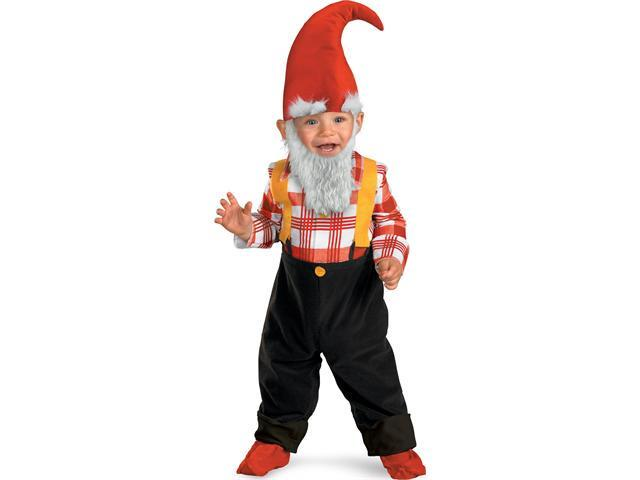 Toddler Garden Gnome Costume Disguise 50034