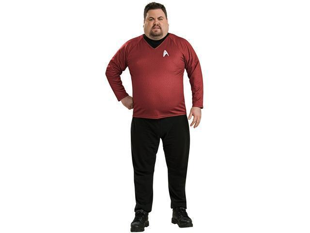 Mens Plus Size Star Trek Deluxe Shirt Costume