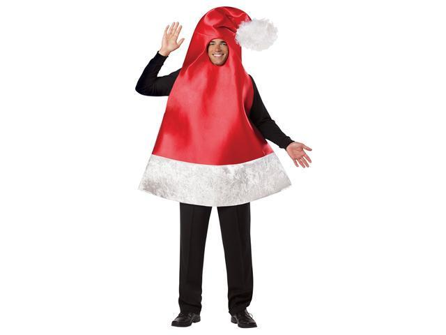 Santa Hat Adult Costume