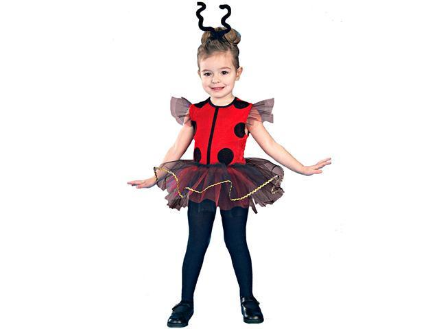 Lil' Lady Bug  Toddler Costume - 2-4T