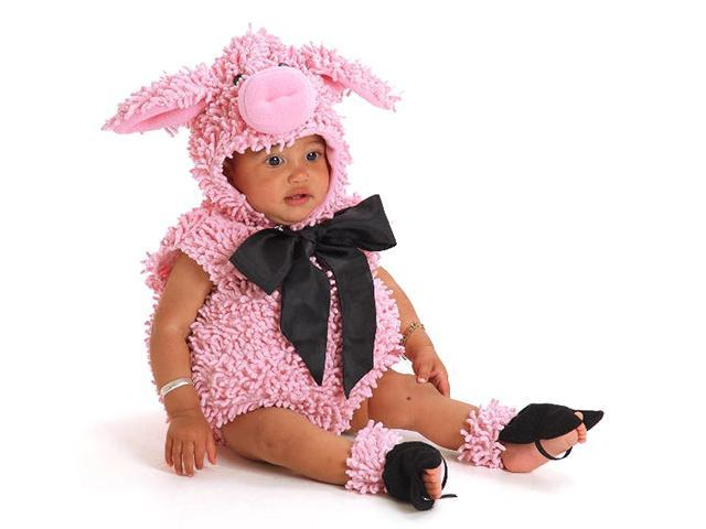 Infant / Toddler Squiggly Piggy with Feet Princess Paradise 4627