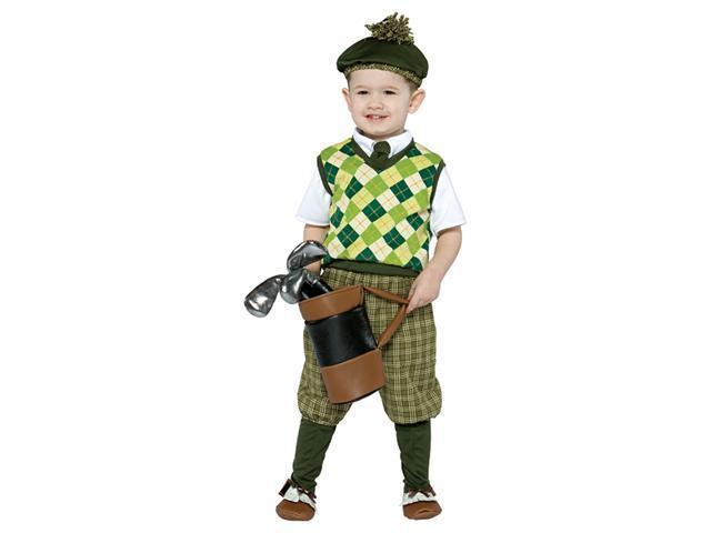4-6X Future Golfer Costume Rasta Imposta 9658