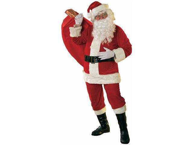 Adult Velour Santa Suit Costume Rubies 23320
