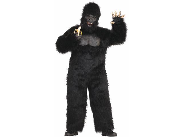 Moving-Jaw Gorilla Adult Costume