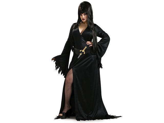 Plus Size Elvira Costume