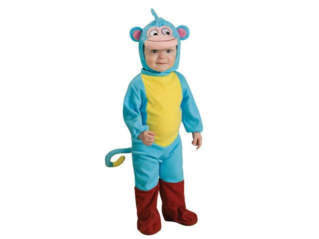 Infant Dora Explorer Boots EZ on Romper Costume Rubies 885519