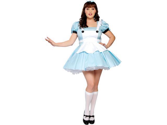 Sexy Alice Adult In Wonderland Plus Costume