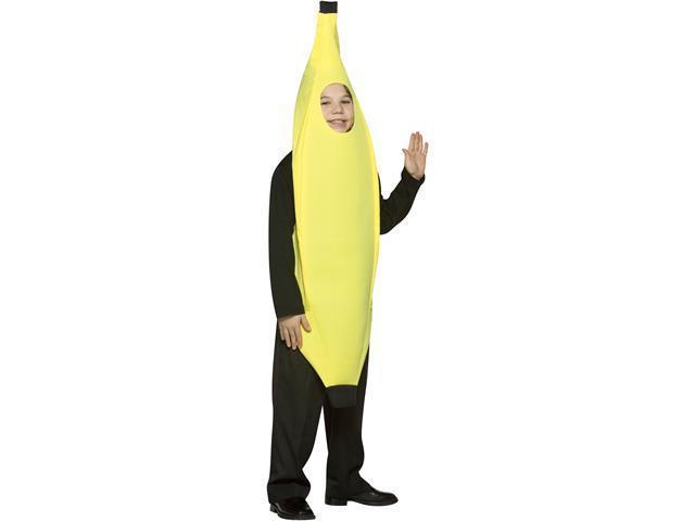 Child 4-6x Banana Costume Rasta Imposta 941