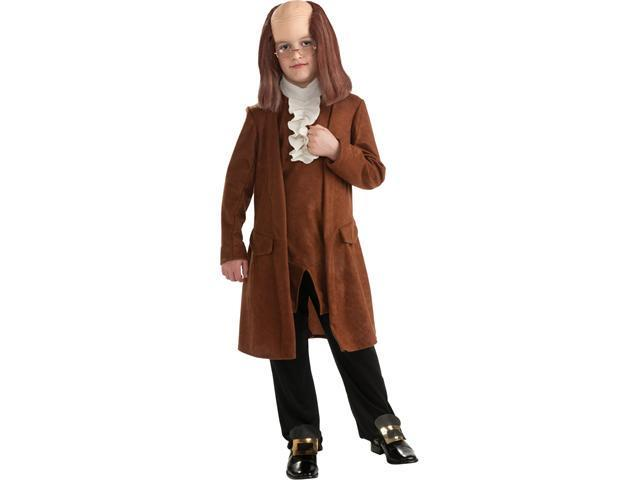 Child Benjamin Franklin Costume Rubies 884720
