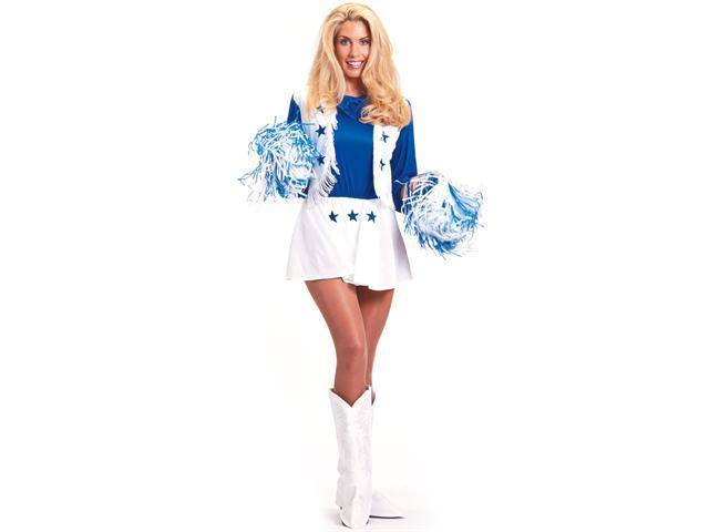 Dallas Cowboys Cheerleader Adult Costume - Sexy