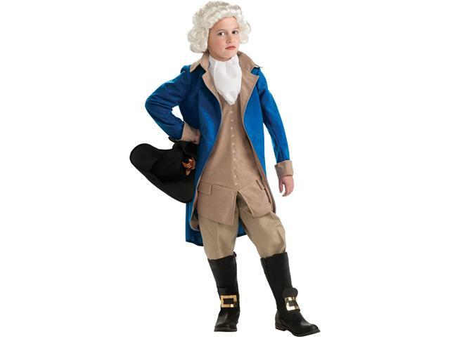 Child George Washington Costume Rubies 884718