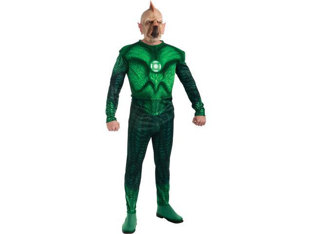 Adult Green Lantern Deluxe Tomar Re Costume Rubies 889988